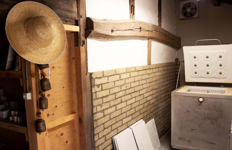 陶芸の工房写真